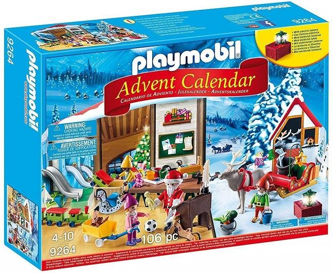 Calendario de Adviento 2019 de Playmobil - Taller de Navidad