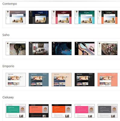 Blogspot (blogspot) tematy szablonów.