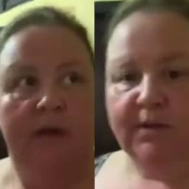 The mosquitoes in Nigeria are bad- Caucasian woman dating a Nigerian man makes a video of her poor living condition in Nigeria and sends it to her family Members in America