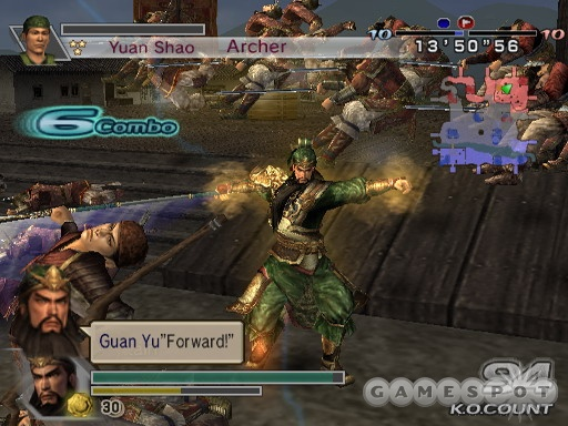 Dynasty Warriors 5 Empires PS2 GAME ISO Gameplay