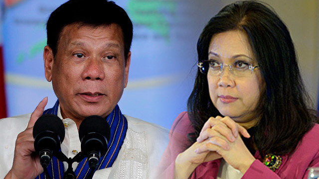 Pres. Duterte to CJ Sereno: Would you rather I declare martial law?