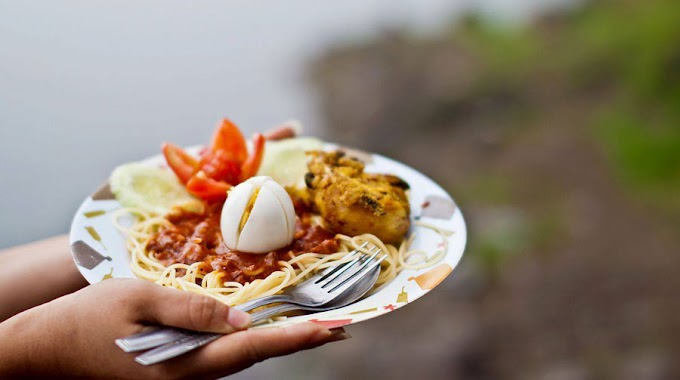 Daily Meal at Mount Rinjani