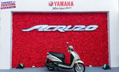 2016 Yamaha Acruzo 125cc wallpapers