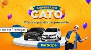 Promoção Cato Supermercados 2019 - 45 Anos Aniversário 2 Carros 0KM Argo