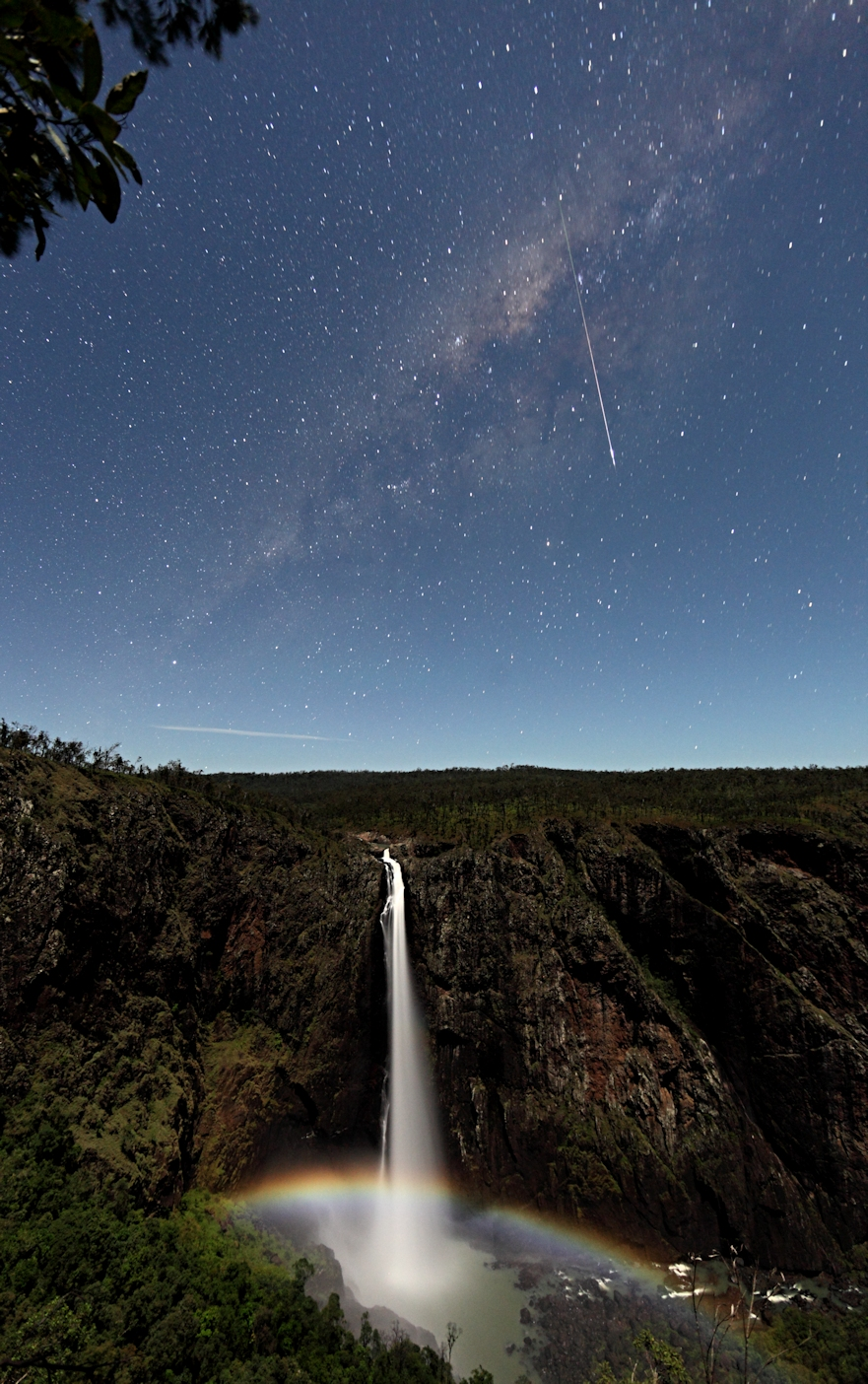 Milky Way Galaxy Wallaman Falls