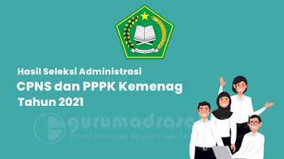 Inilah Hasil Seleksi Administrasi CPNS dan PPPK Kemenag Tahun 2021