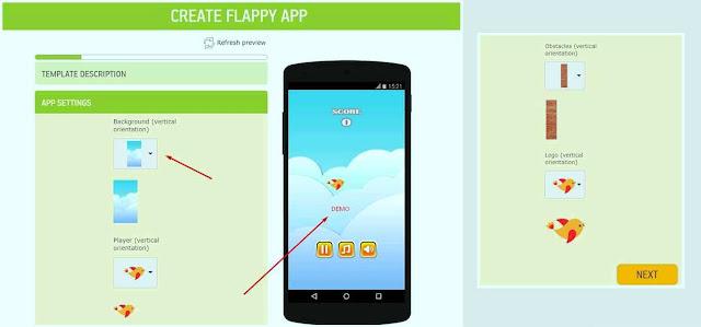 cara membuat game online di hp android