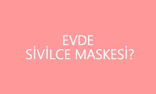 Sivilcileri Yok Eden Yüz Maskesi Diş Macunu Kullanarak Yeni