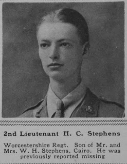 2nd Lt. Howell Charles Stephens (brother of Lt. Col. Robin W.G. Stephens)