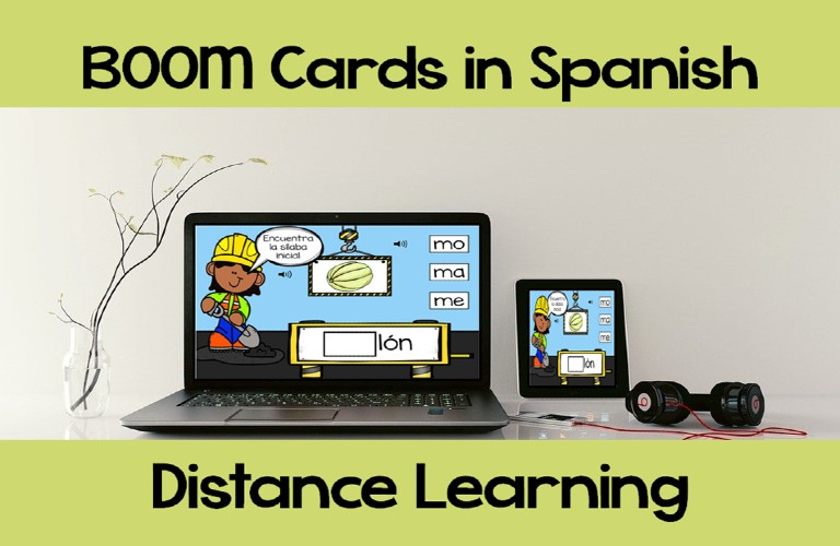 BOOM Cards in Spanish