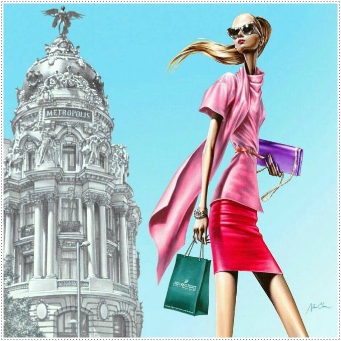 Arturo Elena mais que ilustrador de moda – um estilo de vida