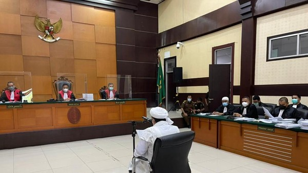 Sidang Kasus Kerumunan Habib Rizieq Dilanjut 30 Maret 2021