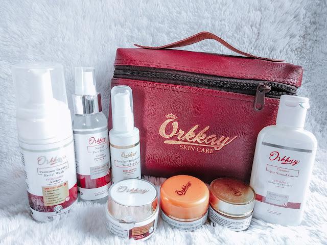 paket lengkap 7 produk orkkay premium white glow