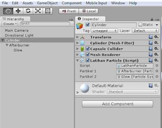 Program C# Unity : Materi 27 - ParticleSystem