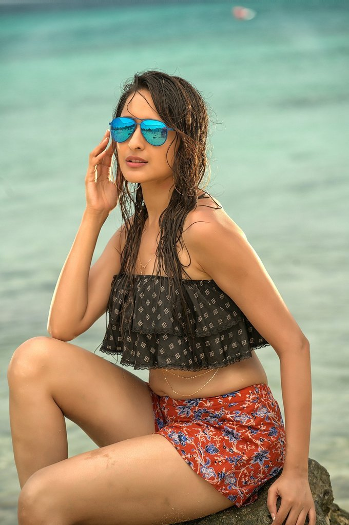 Pragya Jaiswal Hot Photos From Nakshatram Telugu Movie