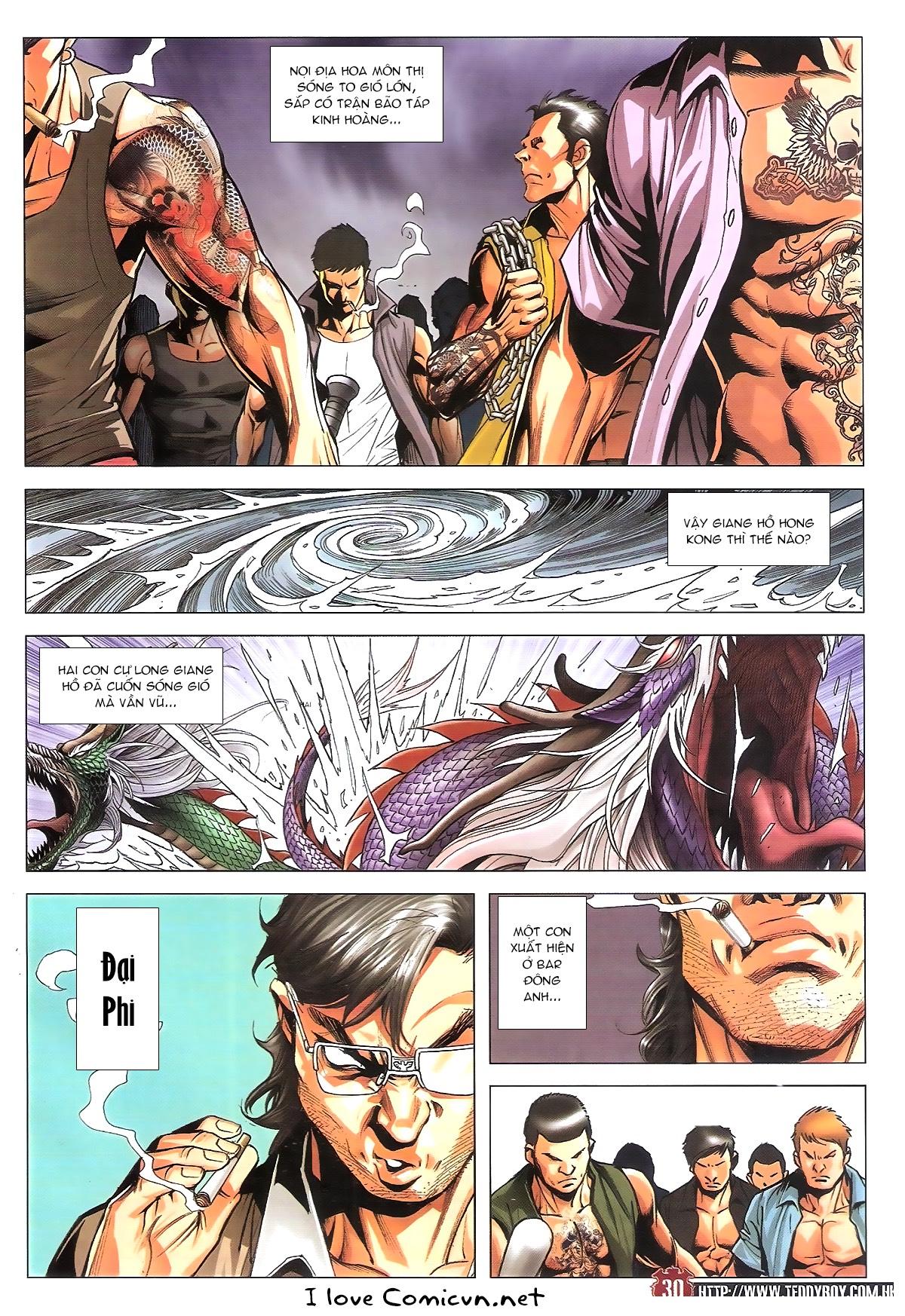 Người Trong Giang Hồ chapter 1805: thiên đao vạn trảm trang 29
