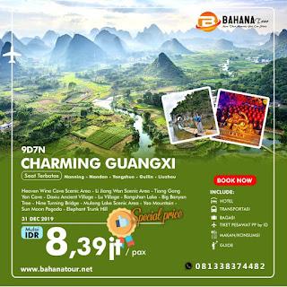 9d7n paket tour guangxi desember 2019