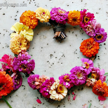 Fresh Floral Summer Wreath