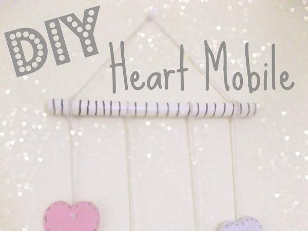 Clay Heart Mobile DIY