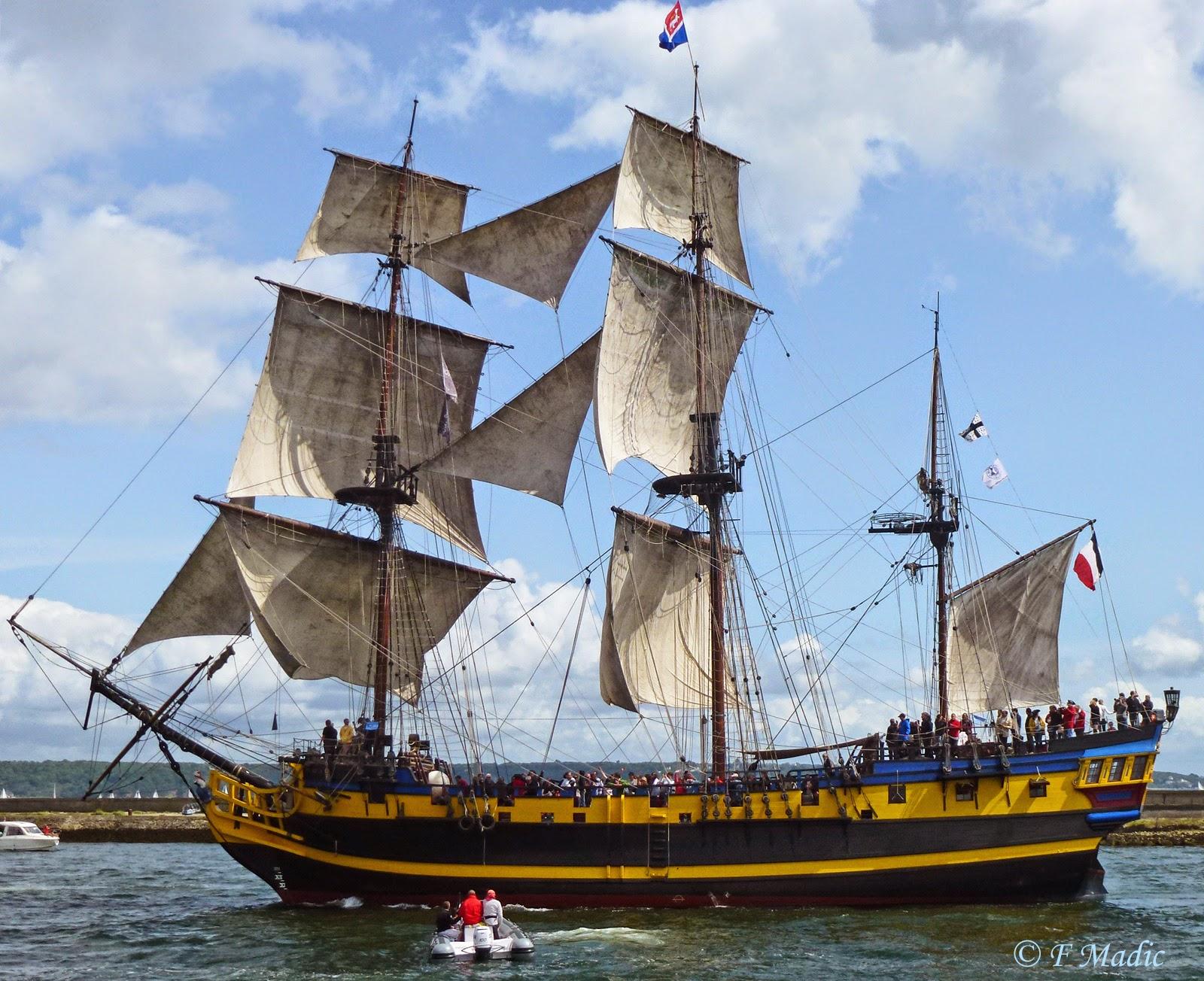 bateau 3 mats francais