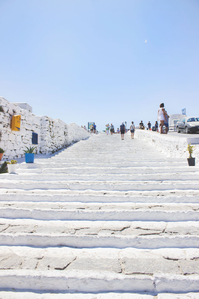 Beautiful Travel Architecture Building Photography | Mykonos, Greece Stairs