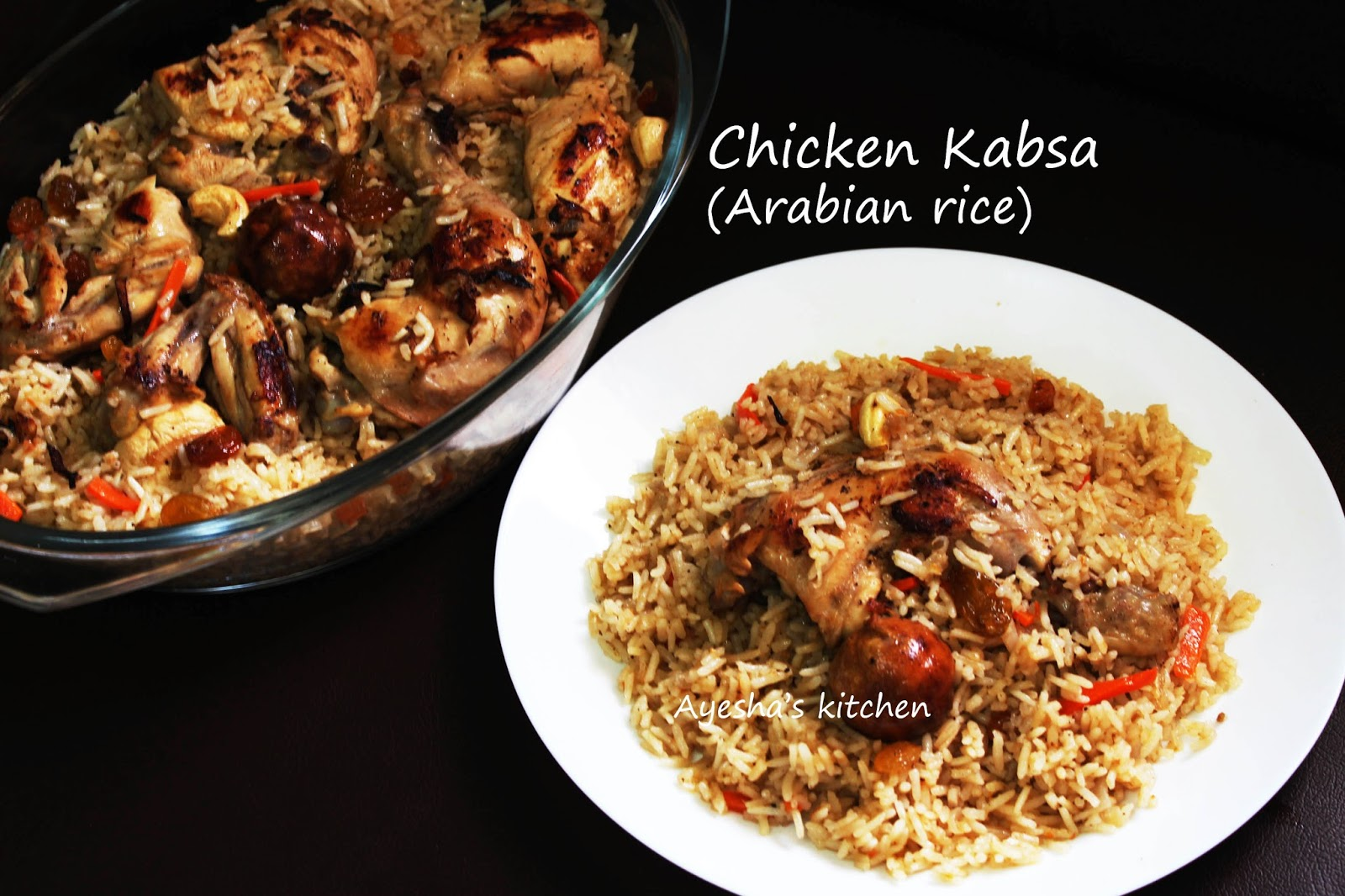 Kabsa recipe chicken kabsa arab rice recipe chicken kabsa recipe rice recipes forumfinder