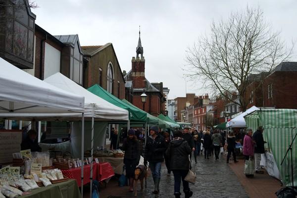 lewes sussex farmer market marché