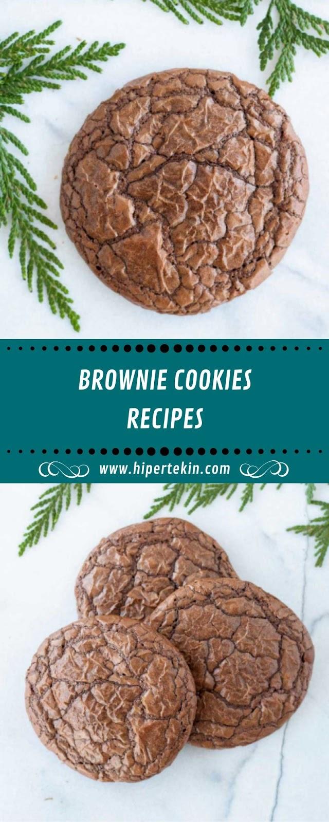 BROWNIE COOKIES RECIPES