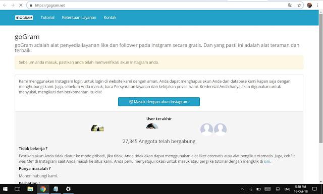 Kumpulan Banyak Link Penambah Followers Instagram Tanpa Following (Free)