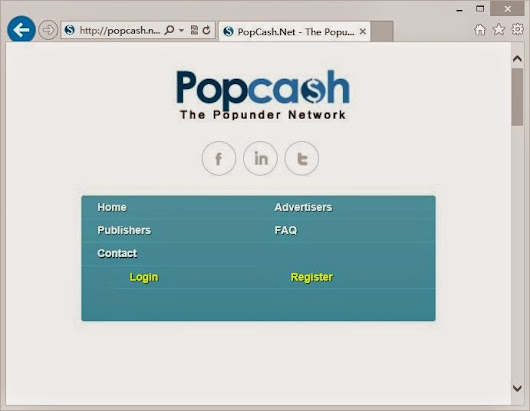 Get Rid of/Remove Popcash.net Pop-up Permanently