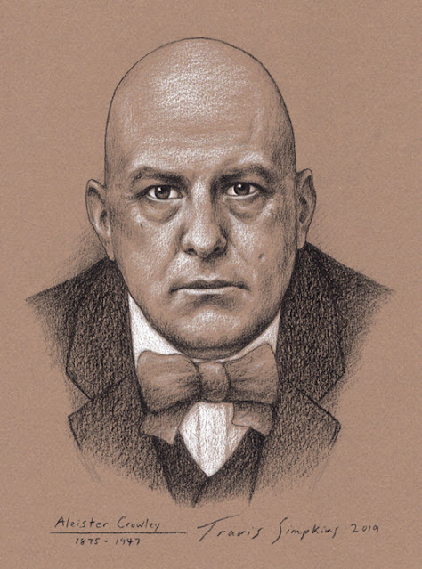 Aleister Crowley. Hermetic Order of the Golden Dawn. Ordo Templi Orientis. OTO. Magick. Thelema. by Travis Simpkins