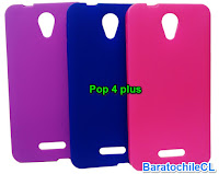 Carcasa gel Pop 4 plus