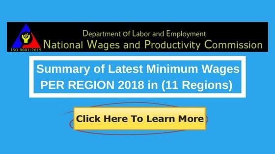 2018 minimum wage