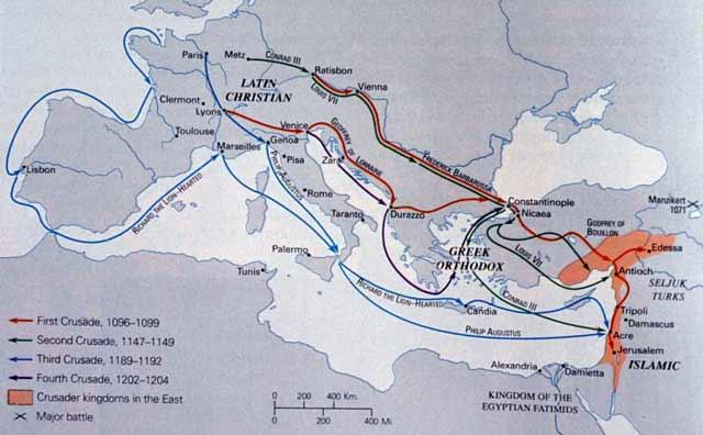 Crusades through Constantinople Byzantium.filminspector.com
