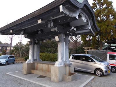 大阪城豊國神社 手水舎?