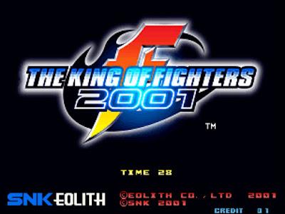 街機:格鬥天王拳皇2001+人物出招表+金手指作弊碼,首款PLAYMORE推出KOF系列作!