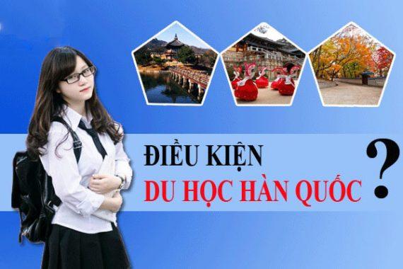 Điều kiện du học Hàn Quốc 2020