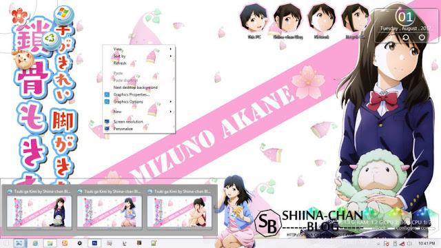 Windows 8/8.1 Theme Tsuki Ga Kirei by Enji Riz