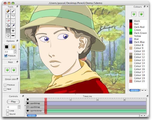 Aplikasi buat anime