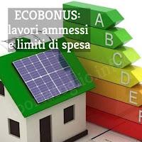ecobonus per lavori di risparmio energetico