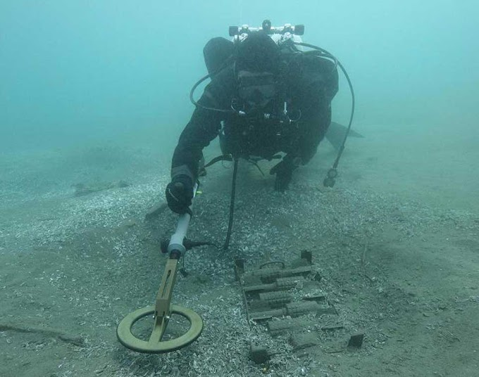 Over 500 wooden stakes and ancient artifacts discovered in Lake Ohrid