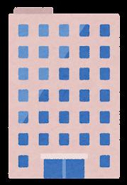 いろいろなビルのイラスト3