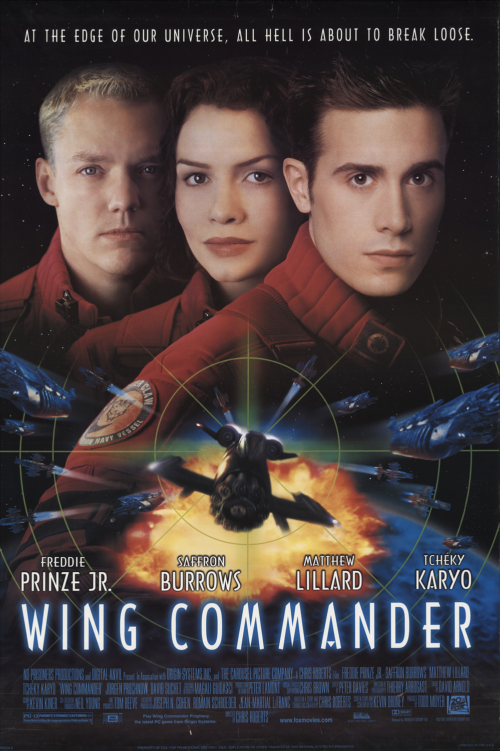 Film Thoughts Video Game Movie Month Wing Commander 1999