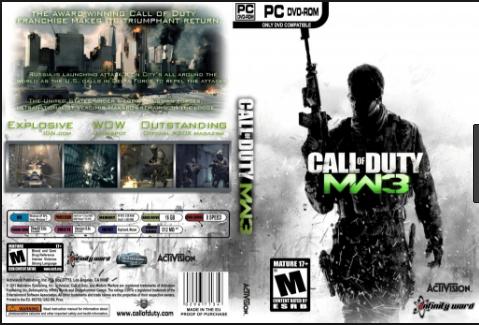 تحميل لعبه Call of Duty Modern Warfare 3 للكمبيوتر