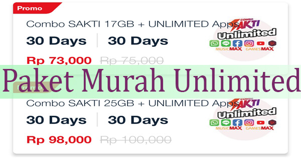 Paket Telkomsel Unlimited