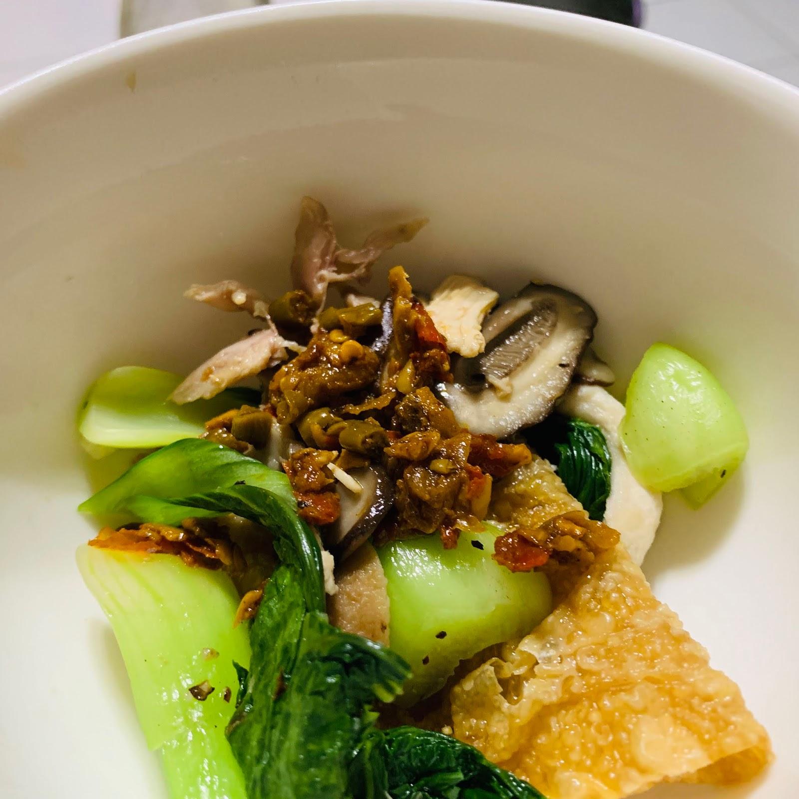 耕禾麻辣酸豇豆醬搭配水煮青菜