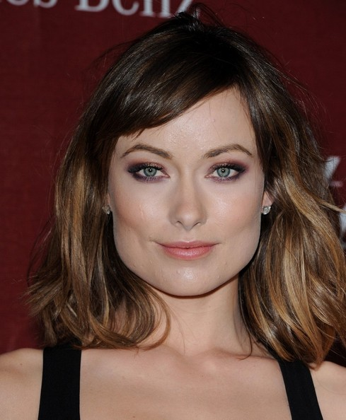 A New Life Hartz Curly Wedding Hairstyle: A New Life Hartz: Olivia Wilde Film Actress In Different