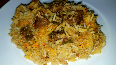 Spice Coated Mutton Biryani Recipe by The Hoggerz