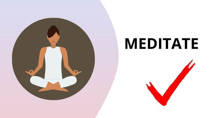 Meditate help you to live a happy live in home