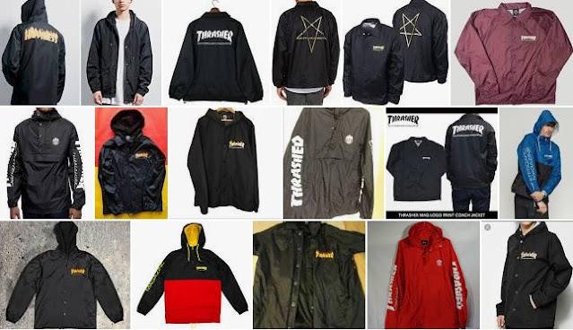 Thrasher Windbreaker Coats & Jackets for Men
